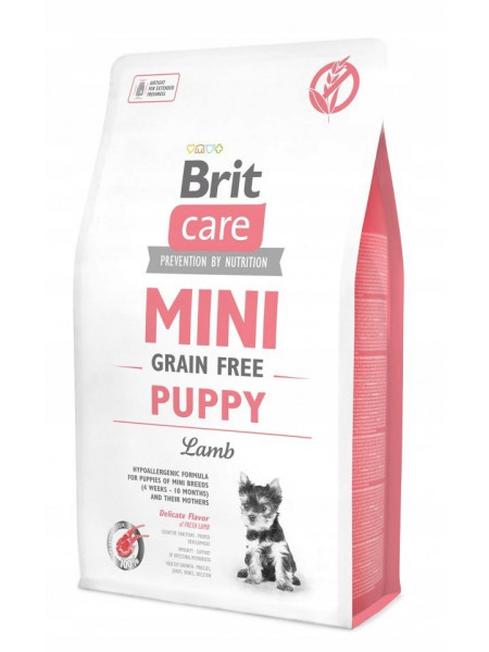 Купить Brit Care Mini Grain Free Puppy 2 кг в Минске