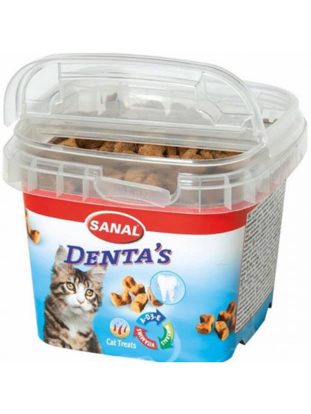Купить Sanal Cat Denta Bites 75 г в Минске