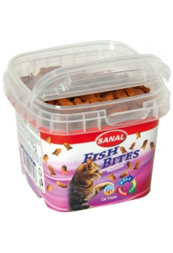 Sanal Cat Fish Bites 75 г