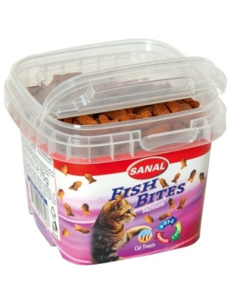 Купить Sanal Cat Fish Bites 75 г в Минске