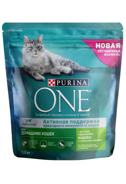 Корм Purina One , индейка 200г
